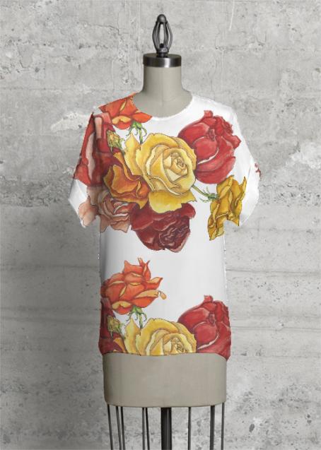 Post Roses Top